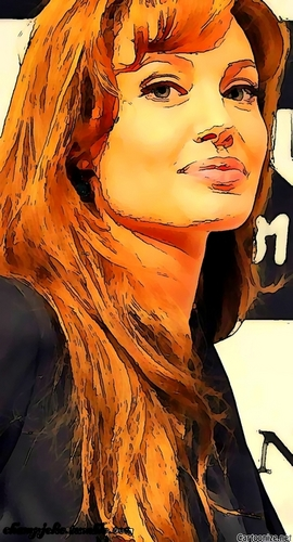 Cartoon Jolie