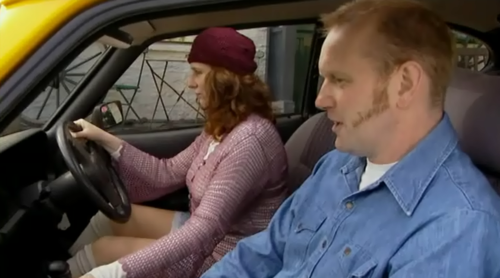 Catherine Tate 바탕화면 containing an automobile called Catherine Tate