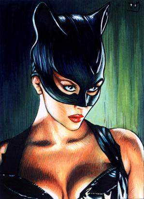 Catwoman fã art