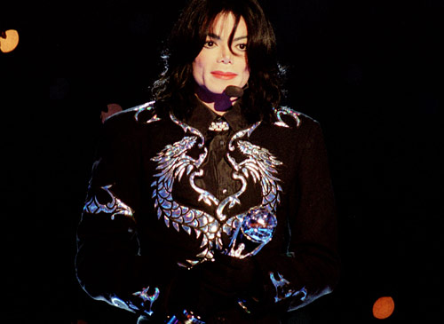 Check out MJ's Jacket- SWEET!!!