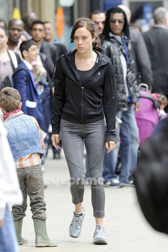 Chloe Sevigny films her new Movie 'Hit and Miss' in Manchester, UK, July 7