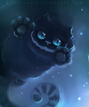 Cute Cheshire Cat - the-cheshire-cat fan art
