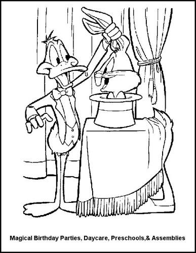 Daffy the Magician