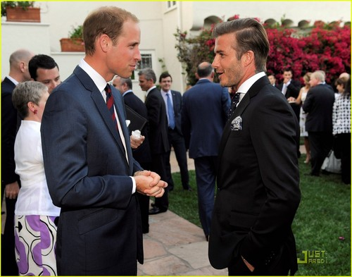David Beckham: soccer Practice with Landon Donovan