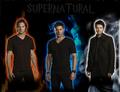 Dean, Cas and Sam