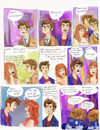 Doctor/Donna/Ten 2 Comic