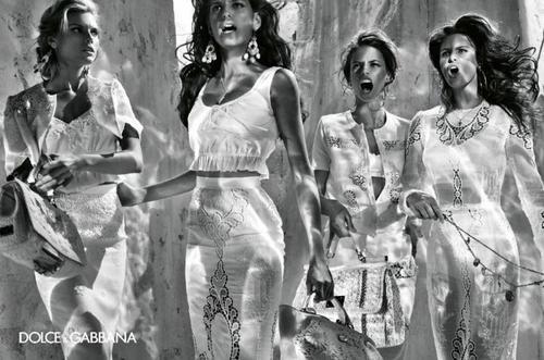 Dolce & Gabbana Spring 2011 Campaign by Steven Klein