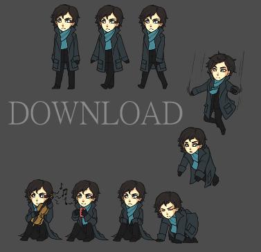 Downloadable Sherlock - Sherlock FanFiction fan Art