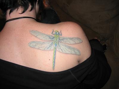 Dragonfly 纹身