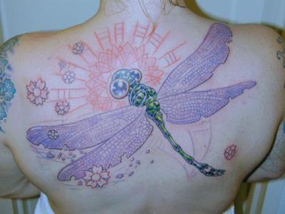 Dragonfly टैटू