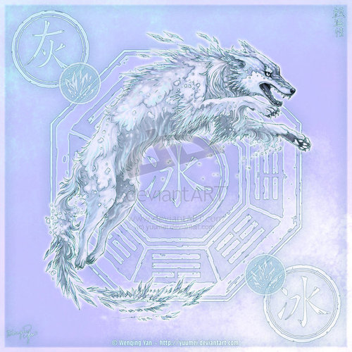 Elemental Wölfe