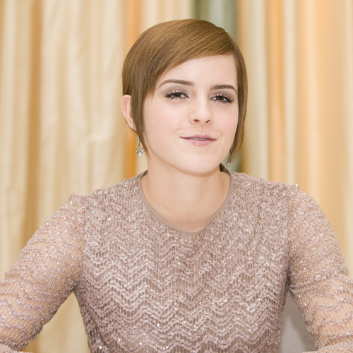 Emma Watson At Deathly Hallows 2 Press Conference Portraits