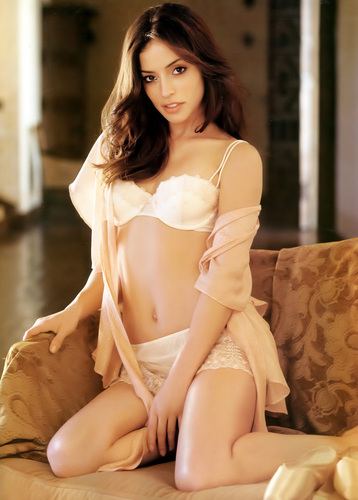 Emmanuelle Vaugier پیپر وال possibly containing a brassiere, attractiveness, and a lingerie entitled Emmanuelle Vaugier