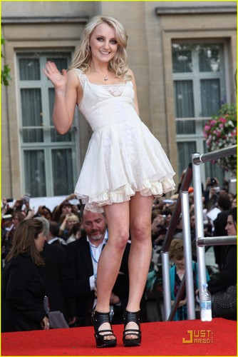 Evanna Lynch & Matthew Lewis Take Over Trafalgar Square