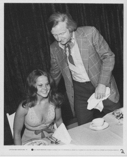 Exorcist II: promo (1977) Linda Blair & John Boorman