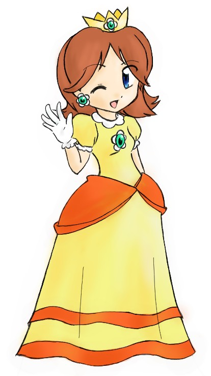 Super Daisy Club Fan-Arts-of-Daisy-princess-daisy-23597819-414-738
