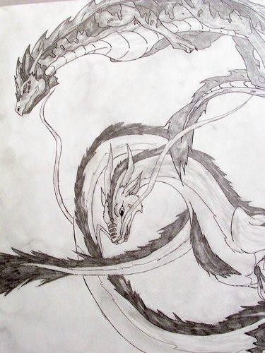 प्रशंसक Arts of ड्रॅगन्स