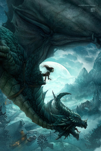 Drachen Hintergrund called Fan Arts of Drachen
