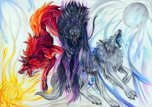 tagahanga Arts of mga lobo