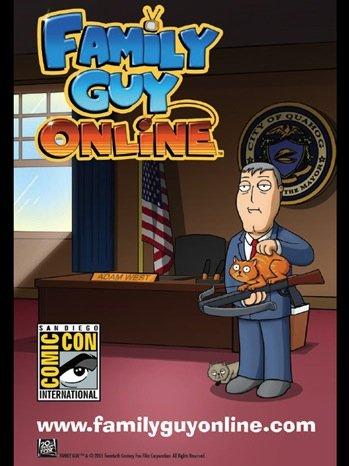 لومڑی Family Guy 2011 Comic-Con Poster