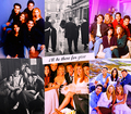 Friends through the years - friends fan art