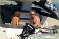 Gerard Butler: Shirtless Boat Ride in Ischia! - gerard-butler photo
