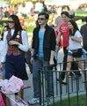 Glee cast at Disneyland - February 14, 2010