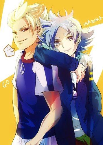 Gouenji and Fubuki