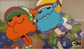 Gumball and Darwin faint - the-amazing-world-of-gumball screencap