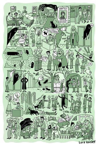 HP Comics Poster
