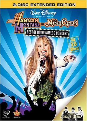 Hannah Montana & Miley Cyrus concert