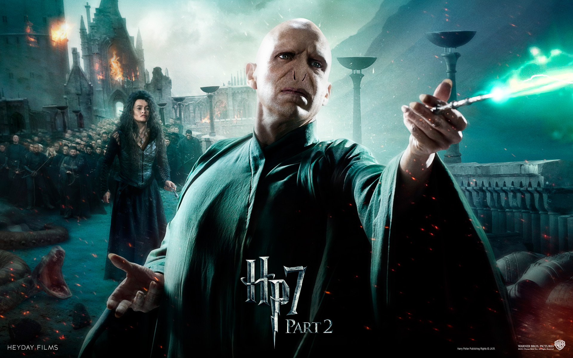 Harry Potter and the Deathly Hallows: Part 2, 2011 (HQ ...