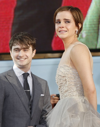 Harry Potter and the Deathly Hallows: Part 2 लंडन premiere