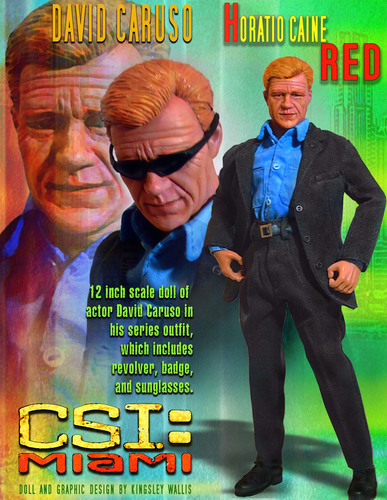 CSI: Miami wallpaper with a business suit and anime titled Horatio Caine David Caruso Doll