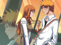 Ichigo and Orihime - ichigo-and-orihime photo