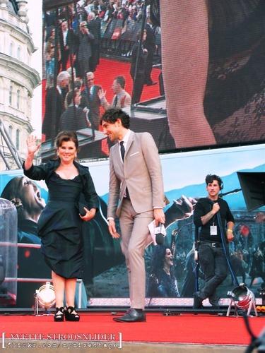 Imelda at DH part 2 London premiere