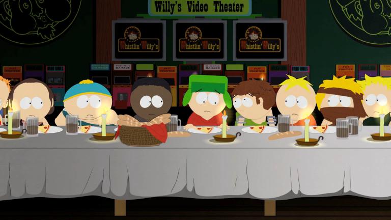 It Kinda Looks Like The Last Supper...