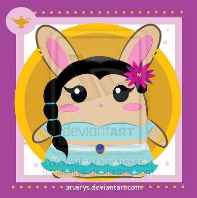 جیسمین, یاسمین as a bunny