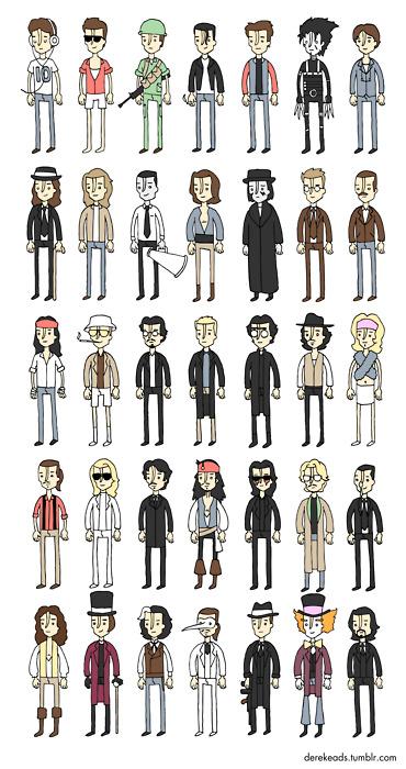 Cartoon Characters Named Johnny : Johnny depp s characters photo