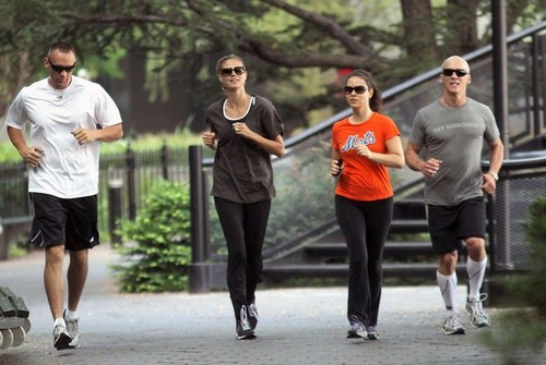 July 6: Jogging in New York City