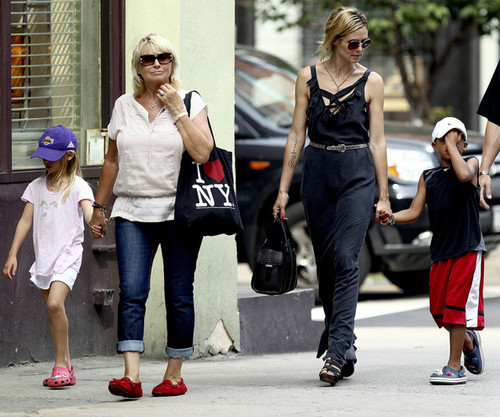 July 6: Out with the kids on a دن care center run