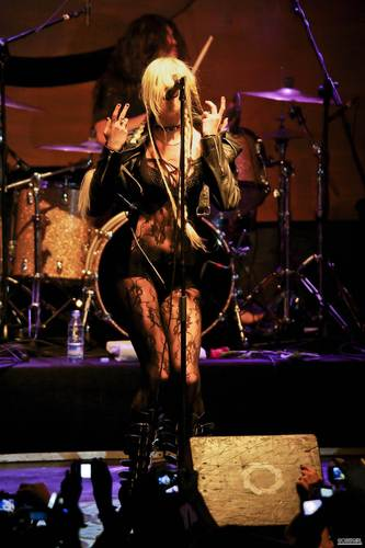 July 7th – The Pretty Reckless Perform in tamasha in Madrid