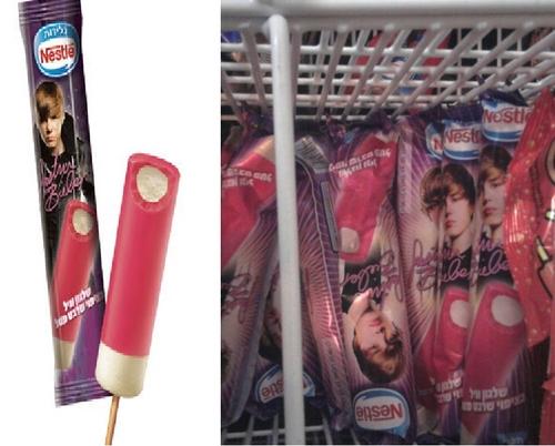 Justin Bieber Popsicle