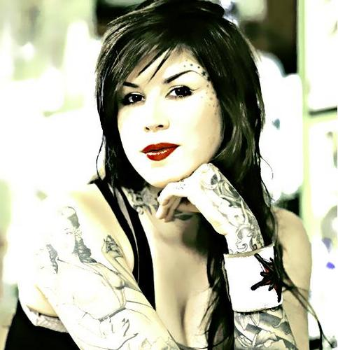 Kat Von D wallpaper possibly with a portrait called KAT