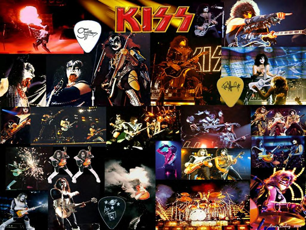 kiss   kiss wallpaper  23538742    fanpop