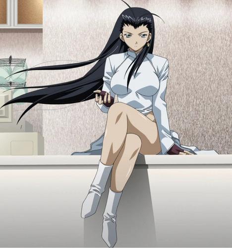 Anime wallpaper titled Kakouen Myousai (Ikki Tousen)