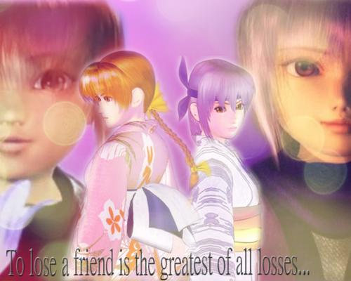 Kasumi and Ayane