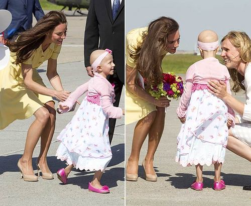 Kate Middleton hugs 6-year-old cancer sufferer and makes her feel so special: Royal Tour день 8 video