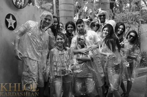 Kendall at Universal Studios.