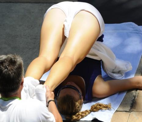 Kvitova ass
